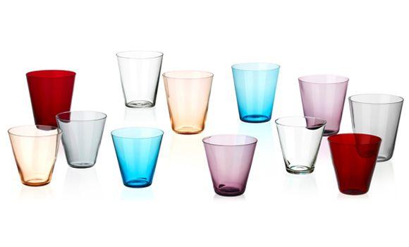 Kartio Glasses-Kaj Franck's most well known work