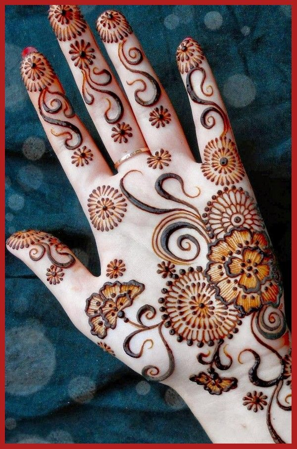 Latest Popular Bridal Mehndi Designs