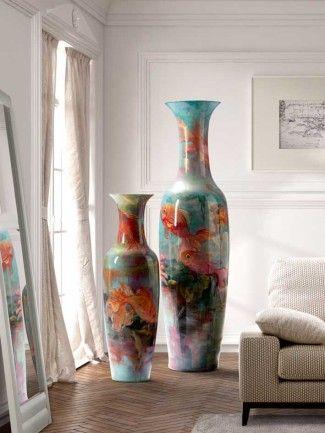 84 best jarrones y figuras decorativas complementos para for Decoracion hogar jarrones