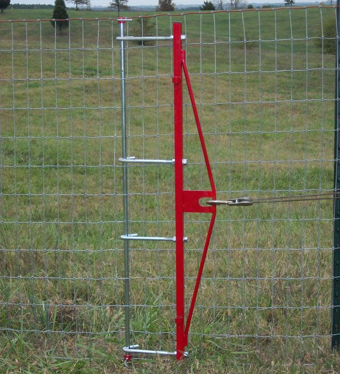 Pajik Fence Stretcher Assembles In Seconds Without Tools