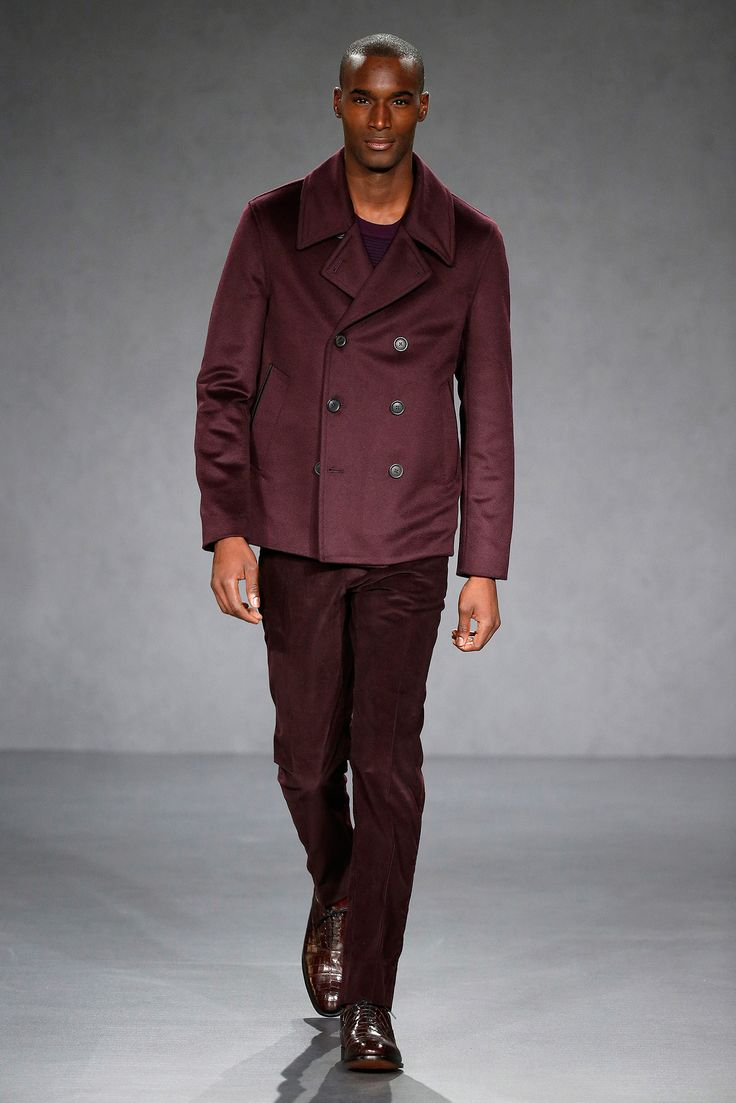 Gieves & Hawkes Fall 2015 Menswear - Collection - Gallery - Style.com // Shades of Red