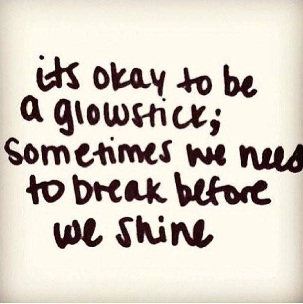 Be A Glowstick