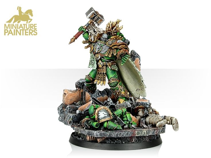 VULKAN PRIMARCH OF THE SALAMANDERS - MINIATURE PAINTERS