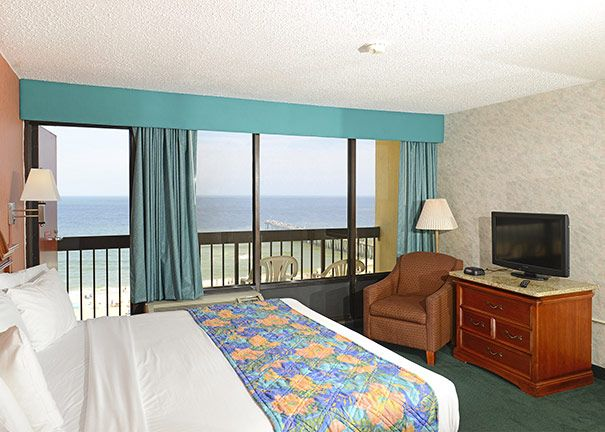 King Suite with Jacuzzi at The Breakers Resort Inn on the Virginia Beach Oceanfront