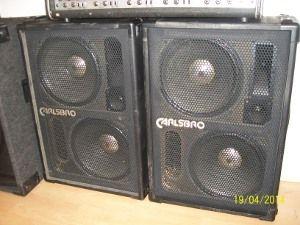 Carlsbro 2 x 12 speakers 150w