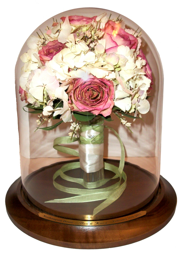 Wedding Bouquet Preservation Company : Images about dried flowers in table dome on