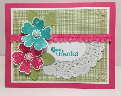 Stamp With Sandy: Flower Shop for The Paper Players