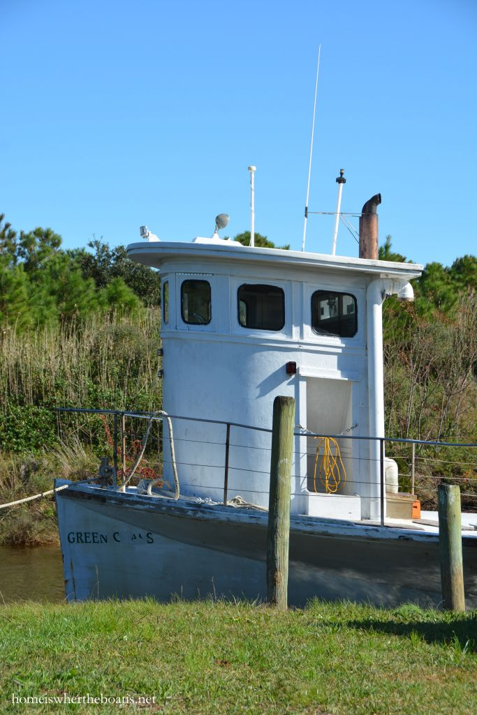 Ferry to Portsmouth Island, Morris Marina, Atlantic, NC | homeiswheretheboatis.net