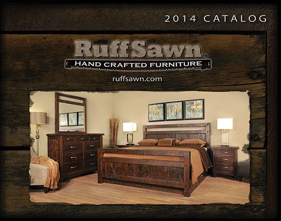 Our new 2014 Ruff Sawn Catalogue as seen on our website at ruffsawn.com
