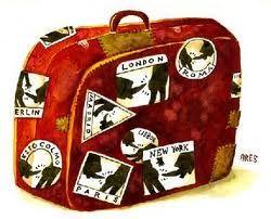 #Viaggiare, per trovare sè stessi e per lasciare un pò di sè nei posti dove si va... #valigia