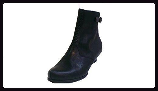 Think Stiefelette, Größe 36, Antikleder schwarz, herausnehmbares Fußbett für eigene lose Einlagen, Schee 87288-00 - Damen pumps (*Partner-Link)
