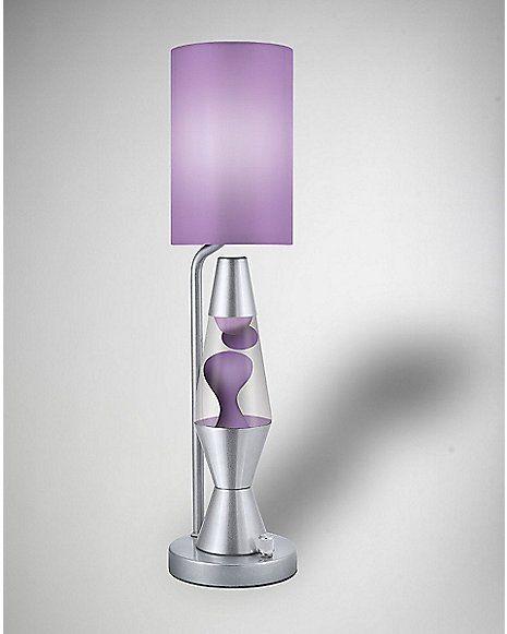 40$ Lava Lamp Purple Table Lamp - Spencer's