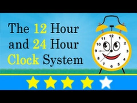 Find 1500+ education videos available at http://www.youtube.com/IkenEdu There are 2 types of clock system named as 12 hour and 24 hour. In 12 hour clock you ...