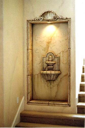 1000 ideas about niche decor on pinterest barn wood Decoration trompe l oeil