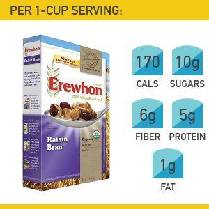 8. Erewhon Raisin Bran #cereal #breakfast http://greatist.com/health/best-healthy-cereal-brands