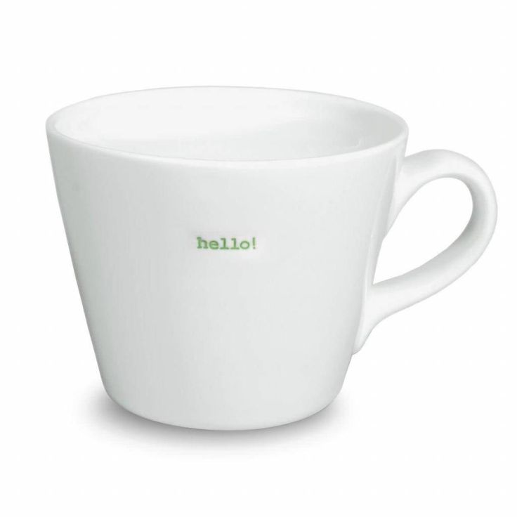 Keith Brymer Jones Bucket Mug-Hello!
