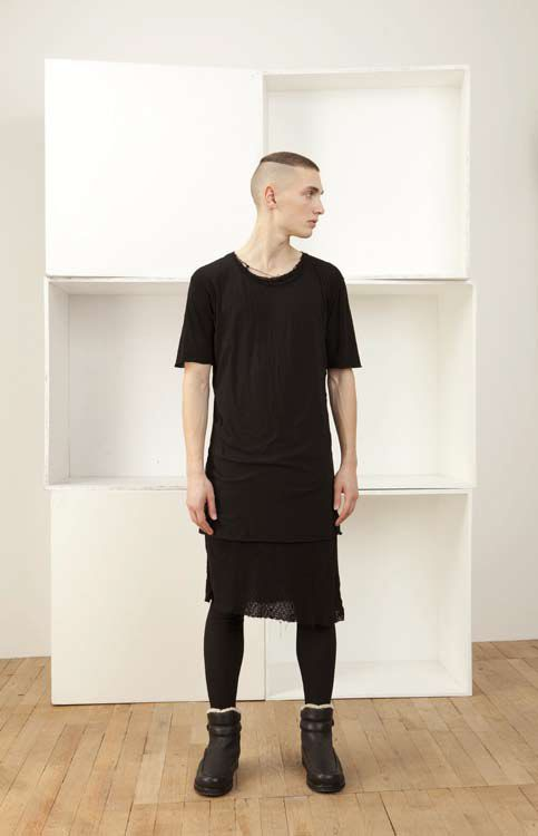 oystersrockafeller:    Silent by Damir Doma Tokes Layered T-shirt.