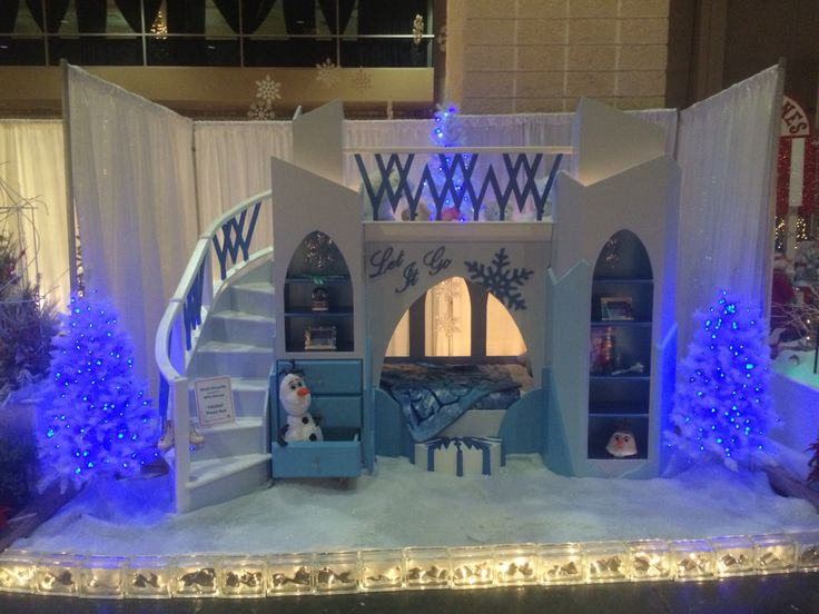 Frozen Theme Bed built to order  Frozen bed Built by Me Can be ordered at wwwfacebookcom