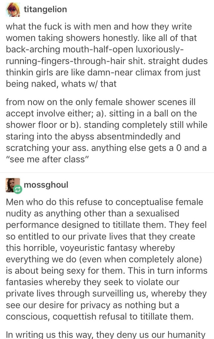 """The shower scene in James Bond Skyfall is awful. The girl had told him about an hour earlier that she had been sold into sex slavery whwn she was a toung chuld and he immediately goes into her shower butt naked and decides """"We're going to have sex now even though it probably traumatises you"""""""