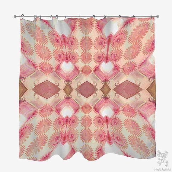 17 Best ideas about Pink Shower Curtains on Pinterest | Beach ...