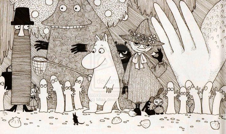 Moomin Tales by Mlaa on deviantART