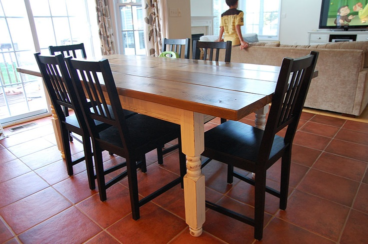 farmhouse table diy projects pinterest diy restoration hardware dining room table used restoration hardware dining room table
