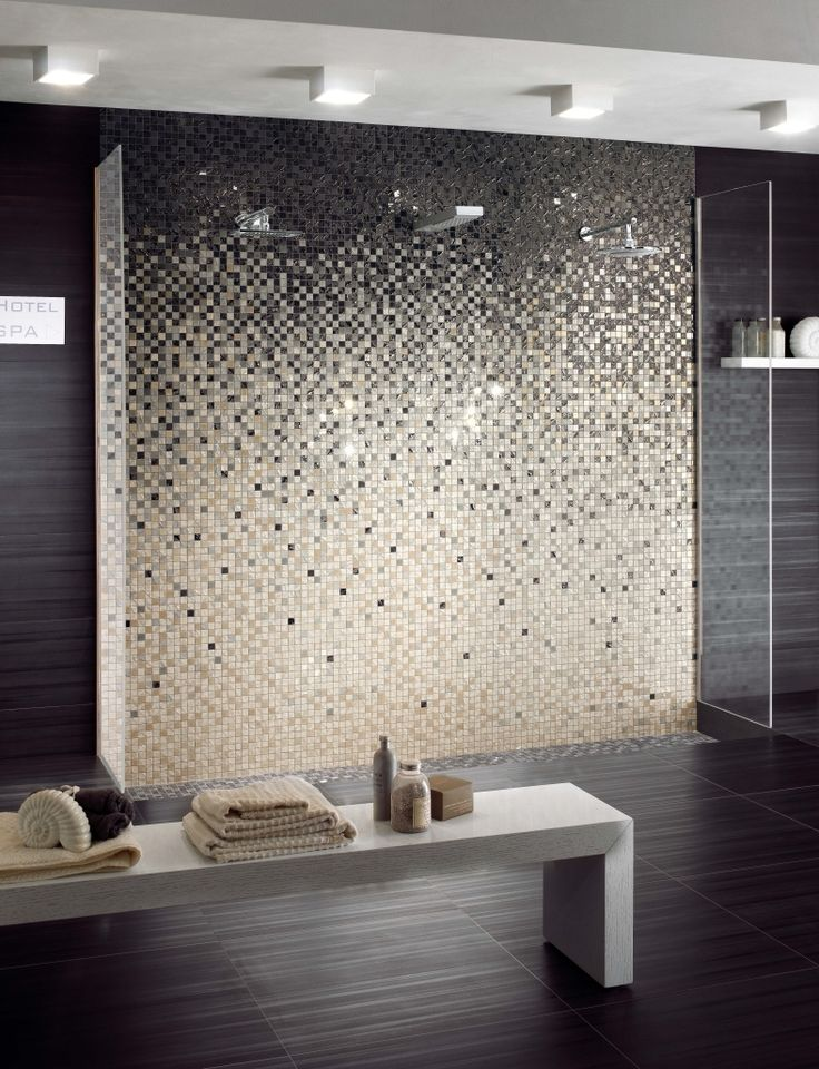 12 best ideas about mur mosaique on Pinterest Toilets, Plan de - Stratifie Mural Salle De Bain