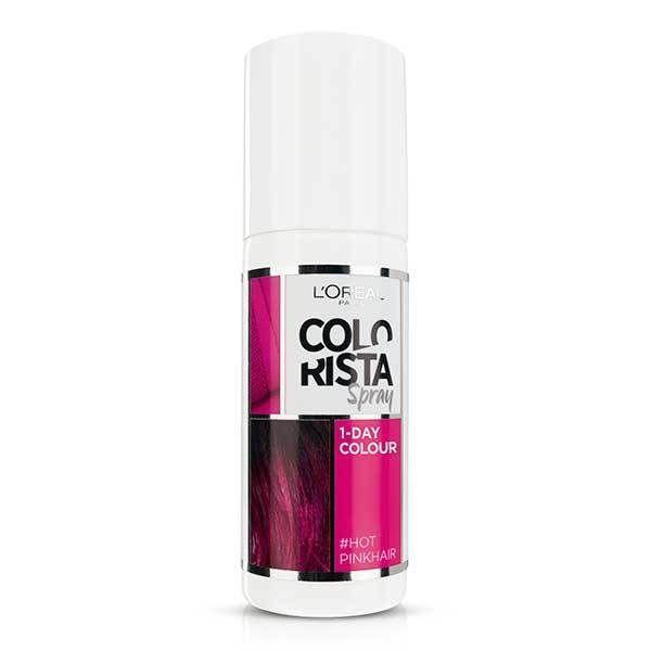 L'Oréal Paris Colorista Spray Hot Pink Hair Colour