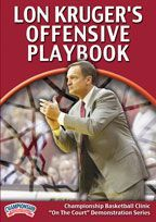 Lon Kruger's Offensive Playbook - Coach's Clipboard #Basketball DVD Store