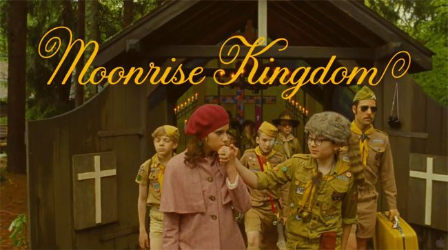 Moonrise Kingdom - I'm sooo getting this when it's released to DVD