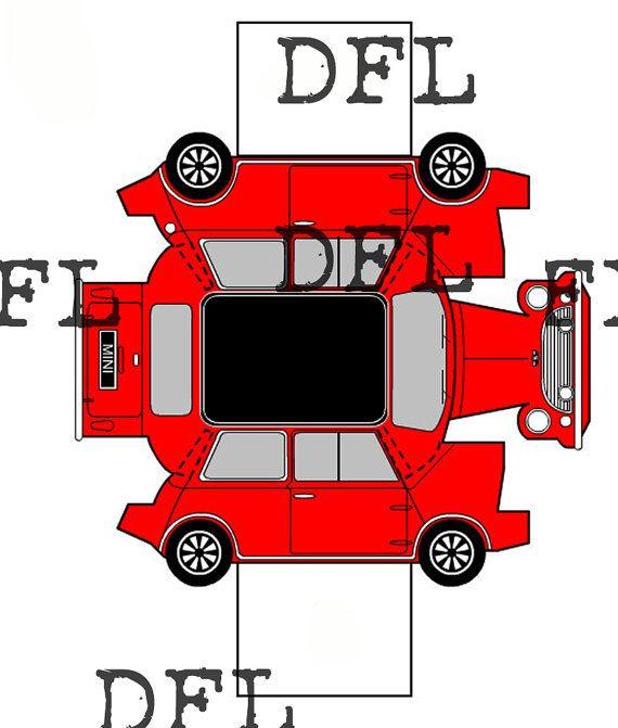 Origami F Racing Car