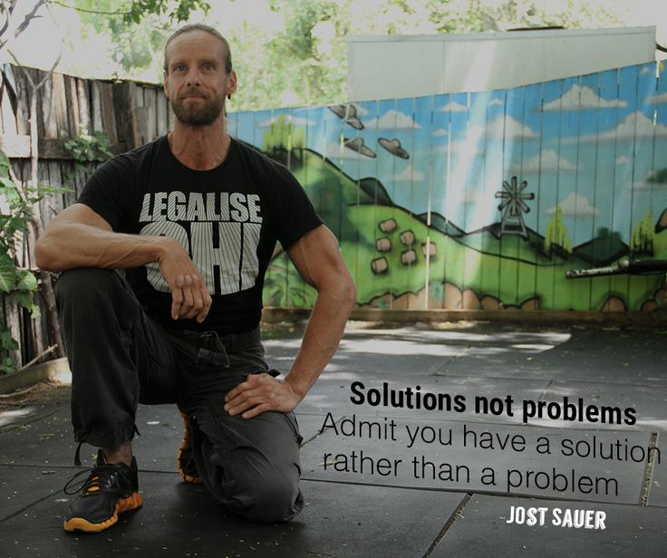 Solutions not problems. Admit you have a solution rather than a problem.