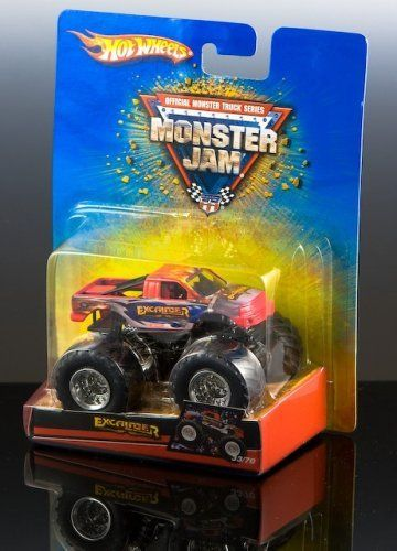 EXCALIBUR Hot Wheels Monster Jam Truck by Mattel. $15.89. 1:64 Scale. Official Monster Truck Series Monster Jam Truck. Perfect for any Monster Truck Fan!. Collectible Mattel Brand Hot Wheels Monster Jam Truck EXCALIBUR. Brand-new in package! AWESOME!!