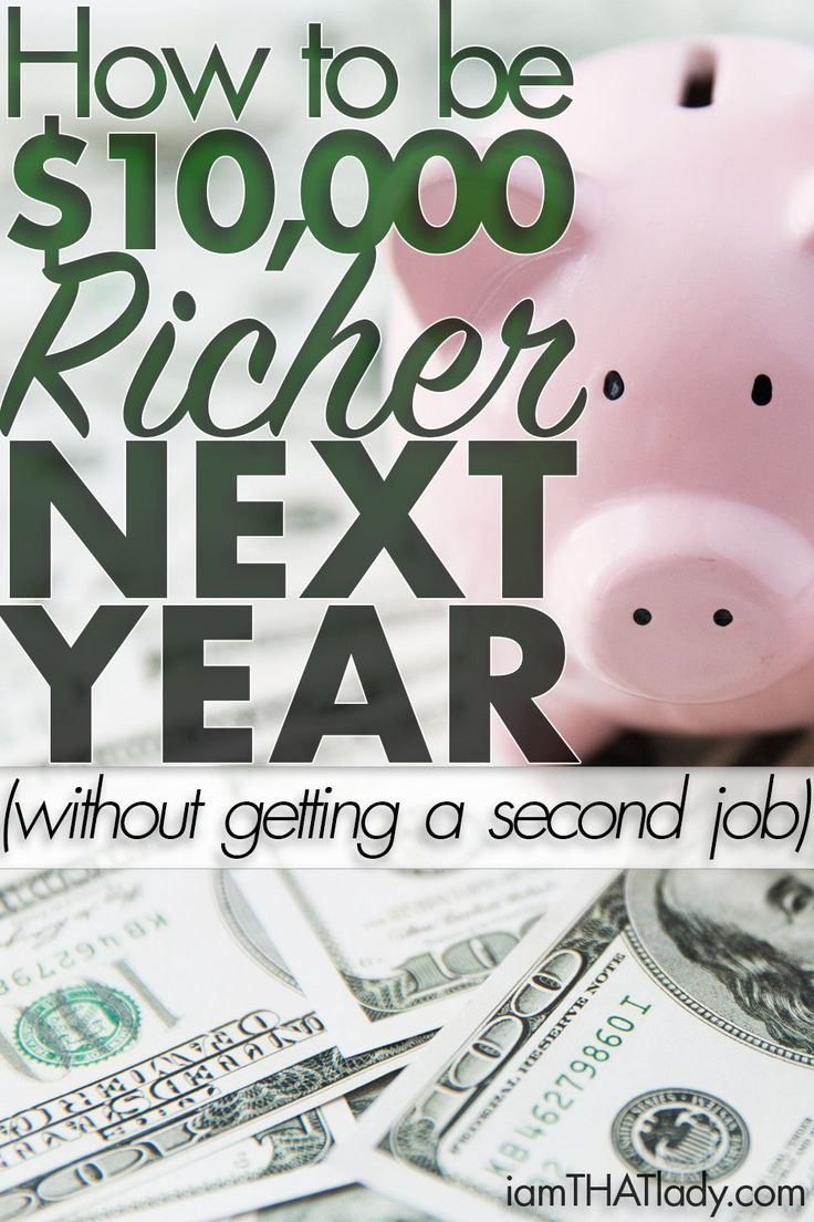Looking for ways to make or save extra cash? This will show you how to be $10,000 richer this year! For Real.