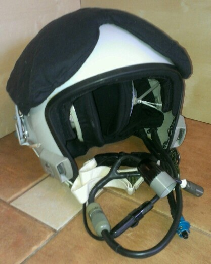 New ZSh-5 flying helmet of russian air force fighter pilot. Also can be used in L-29, L-39 jet training aircrafts.