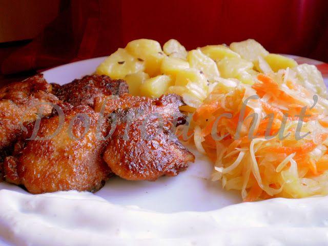 Dobrou chuť: Pikantní kuřecí v sýrovém těstíčku | vaření ...