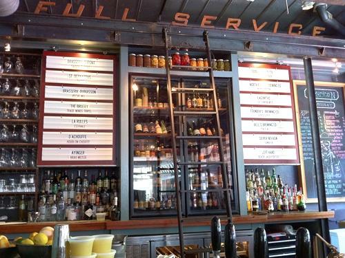 Leons Decatur, GA - good food, good drinks, good people.