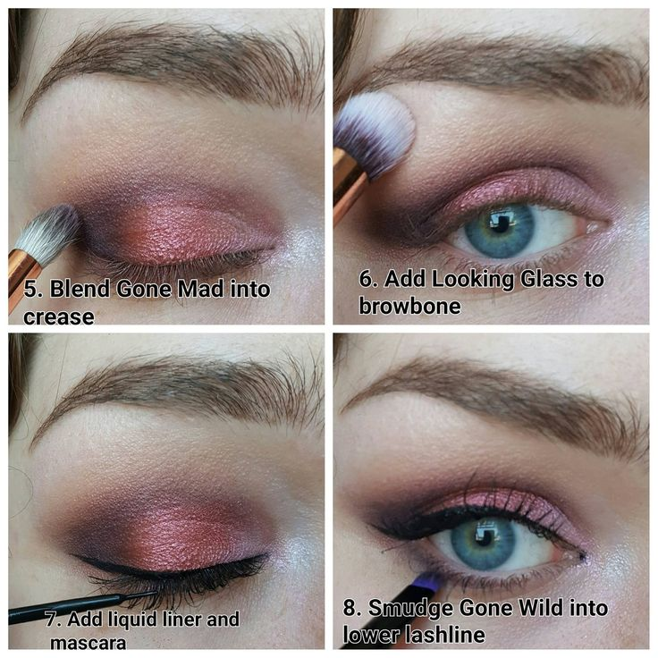ALICE IN WONDERLAND PALETTE/URBAN DECAY/PINK TUTORIAL
