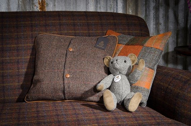 """COMPETITION: What does """"Christmas at our house"""" look like for you? The team here at Tetrad is excited to find out! We are giving away a pair of Harris Tweed scatter cushions and a Harris Tweed teddy bear worth £230! . For a chance to win follow these simple steps: . 1) Post a picture on Instagram which represents Christmas at your house. This could be your decorations going up, your living room set up etc . 2) Use the hashtags #tetrad and #christmasatourhouse . The winning picture will be…"""