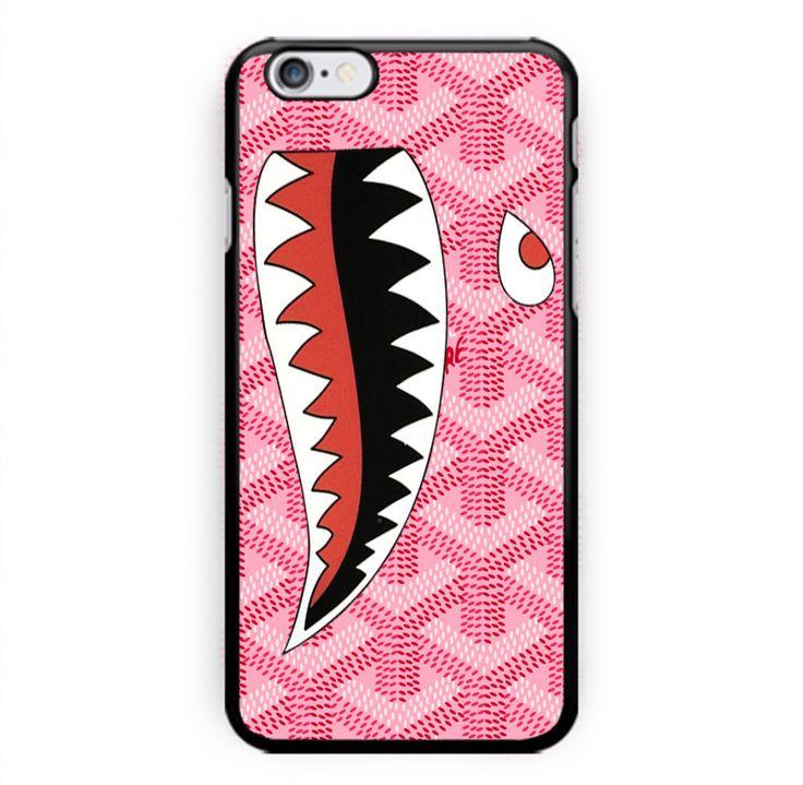 #New #Best #GOYARD #Print #Pink #Shark #PrintOn #Hard #Case #For #iPhone6s #iphone6splus #UnbrandedGeneric #iphone4s #iphone5s #case #cover #iphonecase #accessories #cellphone #favorite #kids #women #men #present #giftidea