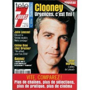 Télé 7 jours (n°2008) du 21/11/1998 - George Clooney - ... [Magazine mis en vente par Presse-Mémoire]