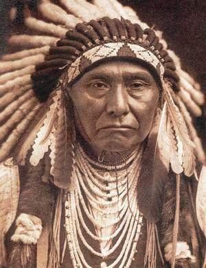 Le chef d'une tribu voisine