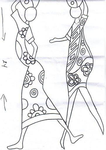 Molde africana 2