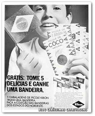 Caríssimas Catrevagens...: SORVETES KIBON ! UMA DELÍCIA... ONTEM, HOJE E SEMPRE! Propaganda da década de 60.
