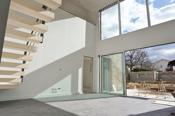 maison contemporaine à étage