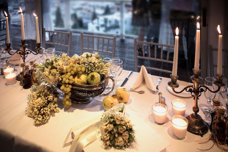 #Dreams In Style #Greece #Athens #Greek wedding #decoration #flowers #reception #tablesetting #elegant #weddingplanner  Photo Credits: Alexis Kamitsos