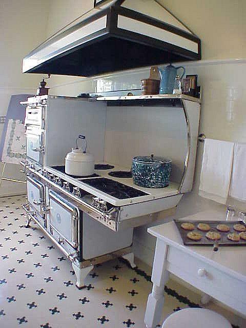 Pittock Mansion Kitchen