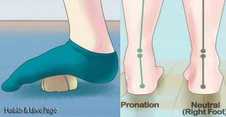 Livre-se da dor nos pés e pernas com uma simples bola de tênis