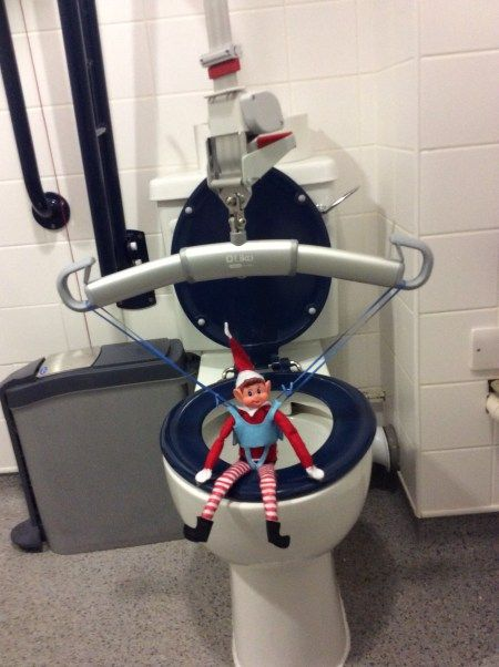 We all need to pee - including disabled Elves!