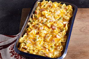 Creamy Turkey & Noodles Recipe {via KraftFoods.com} - Would make a great recipe to use up Thanksgiving turkey leftovers! Could also use chicken!